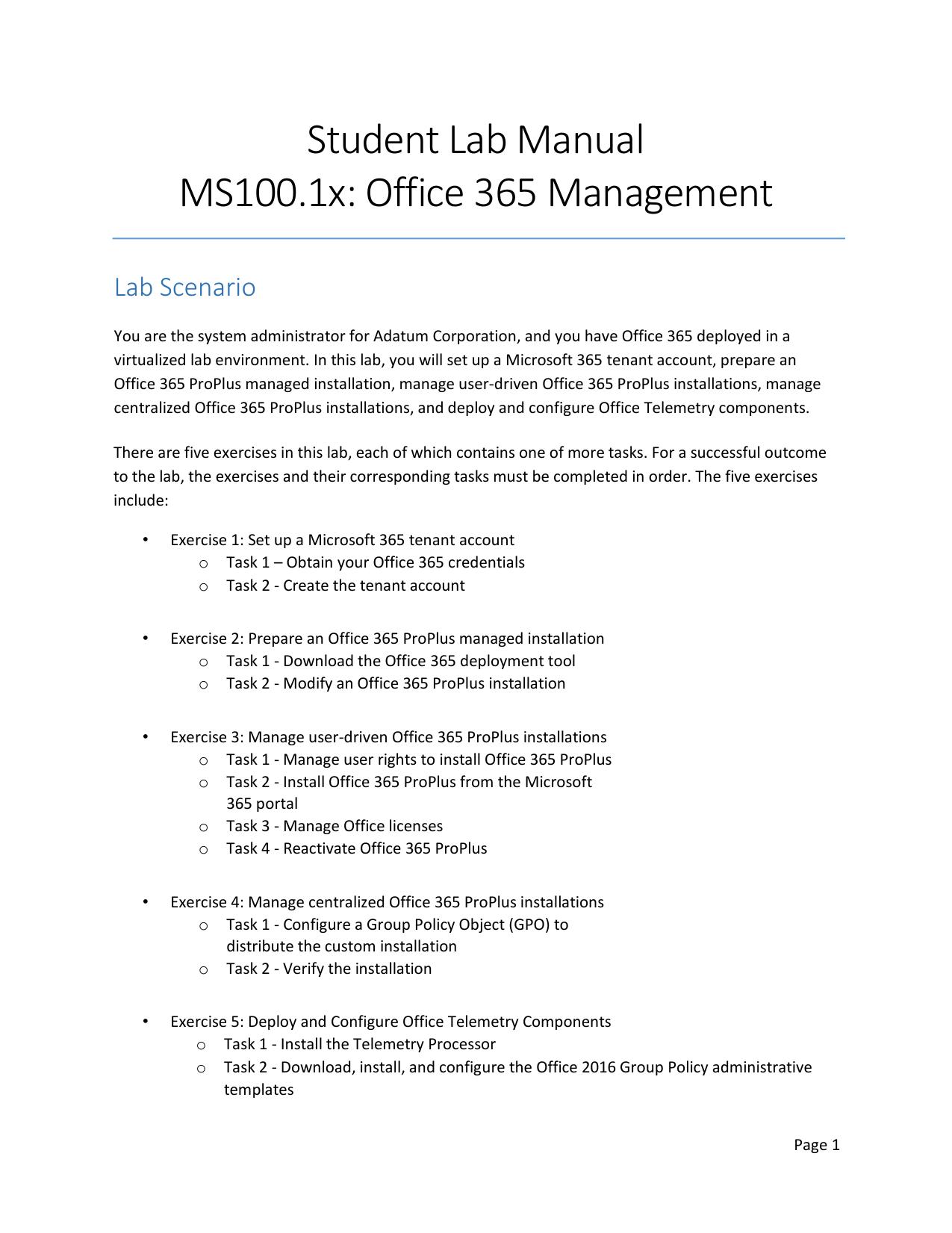 MS-100T01A-ENU-StudentLabManual