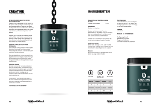The Fundamentals Creatine by Overload Worldwide