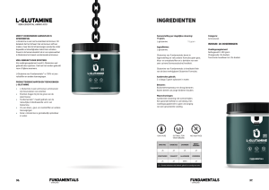 The Fundamentals L-Glutamine by Overload Worldwide