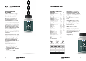 The Fundamentals Multivitaminen by Overload Worldwide