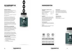 The Fundamentals CO-Support V2 (Magnesium & Taurine) by Overload Worldwide