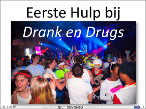 Drank en Drugs