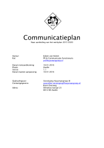 Communicatieplan-1.1