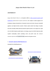 XINLEI MOULD Products
