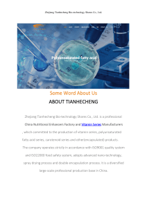 Zhejiang Tianhecheng Bio-technology Shares Co., Ltd.